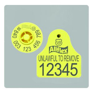 Allflex Combi E23 RFID Tag For Sheep And Goat